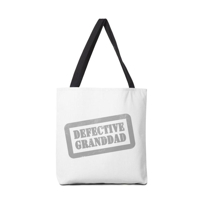 Defective Granddad Accessories Tote Bag Bag by Unhuman Design