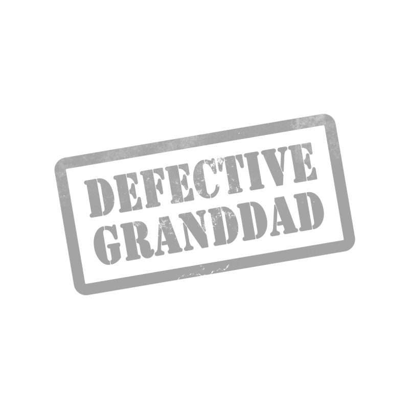 Defective Granddad Men's Sweatshirt by Unhuman Design