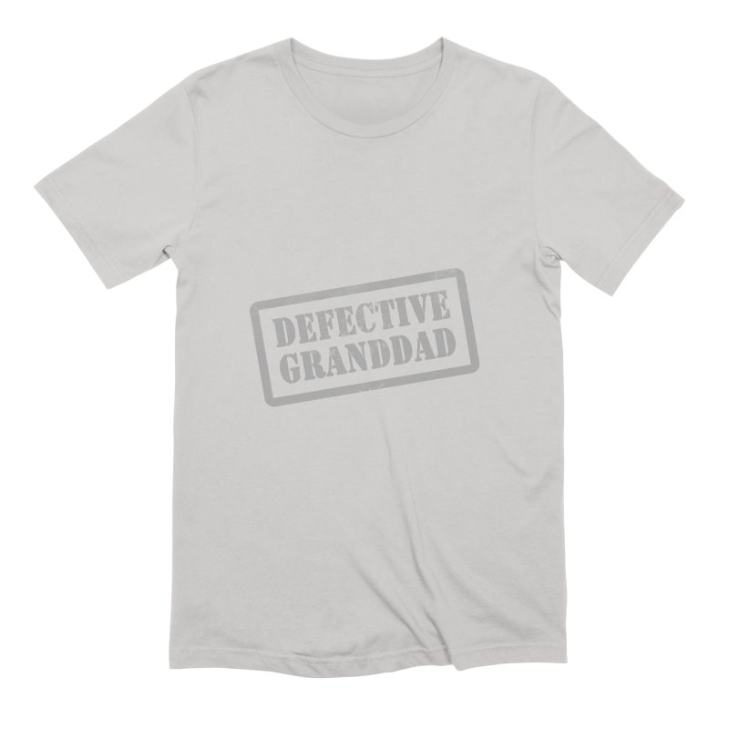 Defective Granddad Men's Extra Soft T-Shirt by Unhuman Design