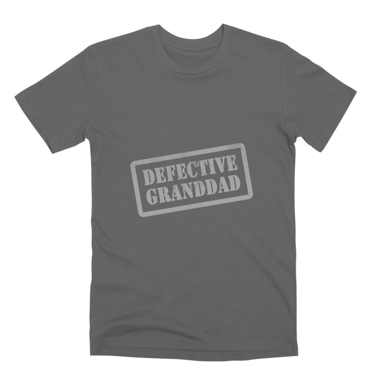 Defective Granddad Men's Premium T-Shirt by Unhuman Design