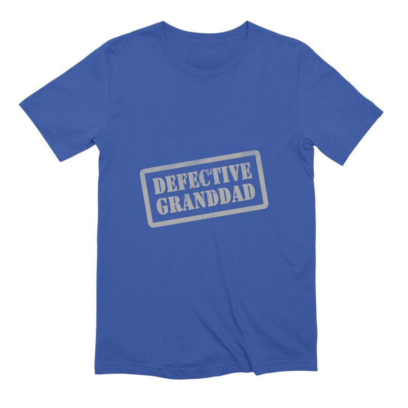 Defective Granddad Men's Extra Soft T-Shirt by Unhuman Design