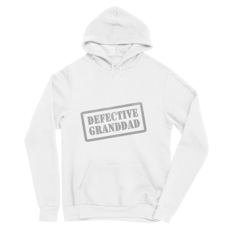 Defective Granddad Men's Sponge Fleece Pullover Hoody by Unhuman Design