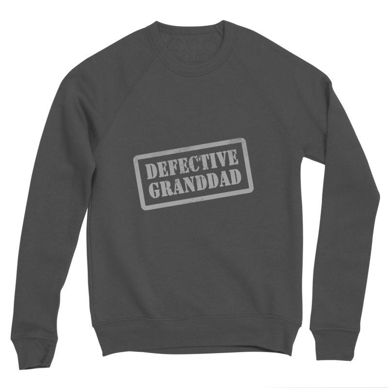 Defective Granddad Men's Sponge Fleece Sweatshirt by Unhuman Design