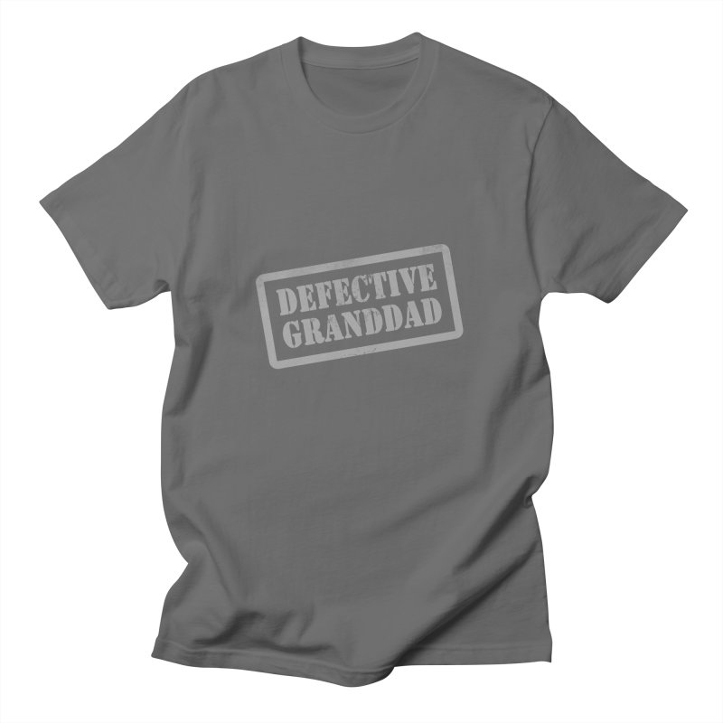 Defective Granddad Men's Regular T-Shirt by Unhuman Design