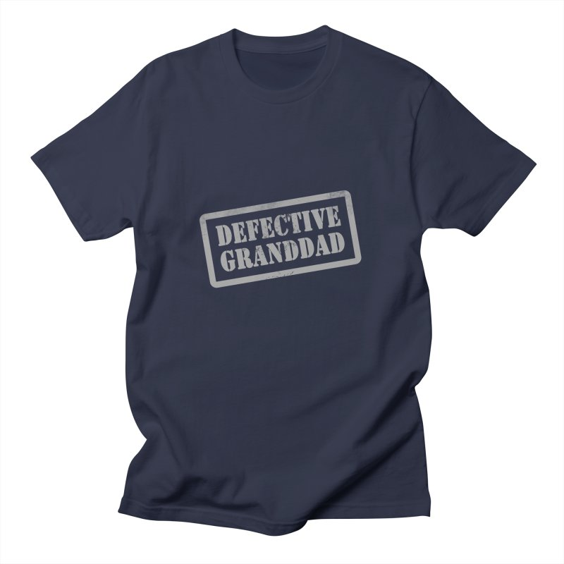 Defective Granddad Women's Regular Unisex T-Shirt by Unhuman Design