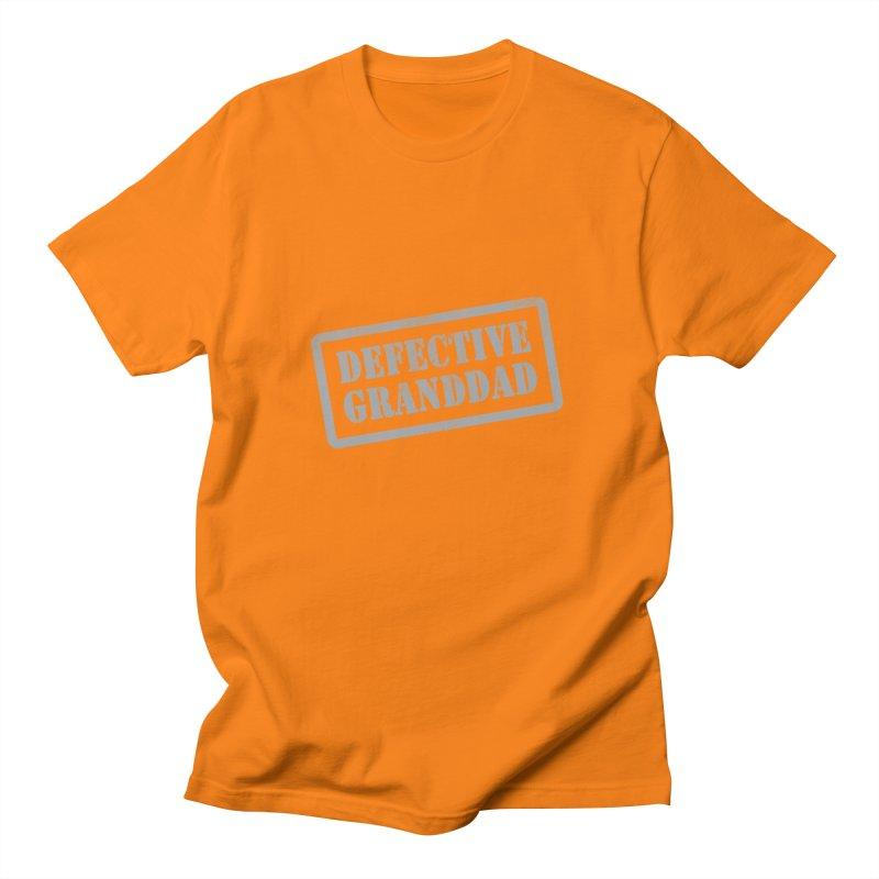Defective Granddad Men's Regular T-Shirt by Unhuman Design