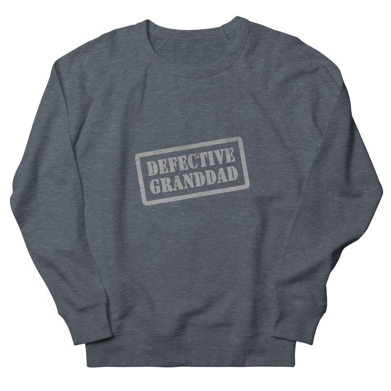 Defective Granddad Women's French Terry Sweatshirt by Unhuman Design