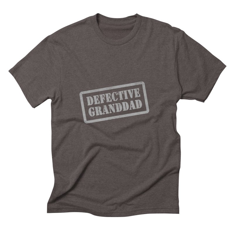 Defective Granddad Men's Triblend T-Shirt by Unhuman Design