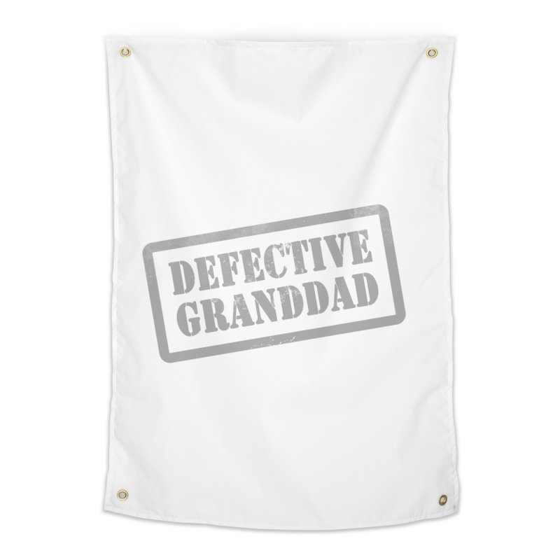 Defective Granddad Home Tapestry by Unhuman Design