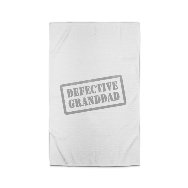 Defective Granddad Home Rug by Unhuman Design