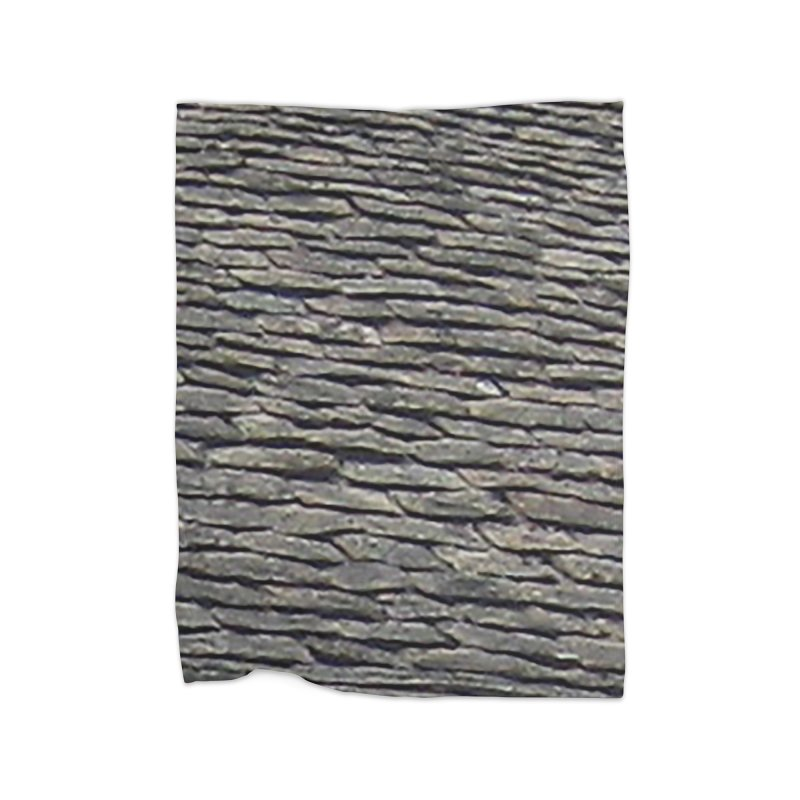 On the Tiles Home Fleece Blanket Blanket by Unhuman Design