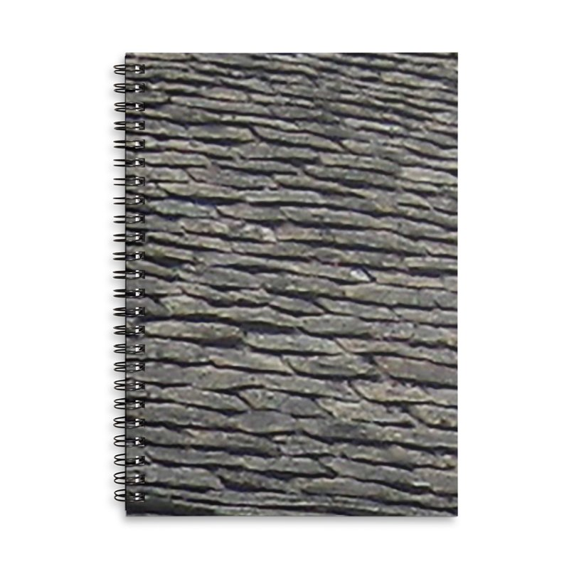 On the Tiles Accessories Lined Spiral Notebook by Unhuman Design