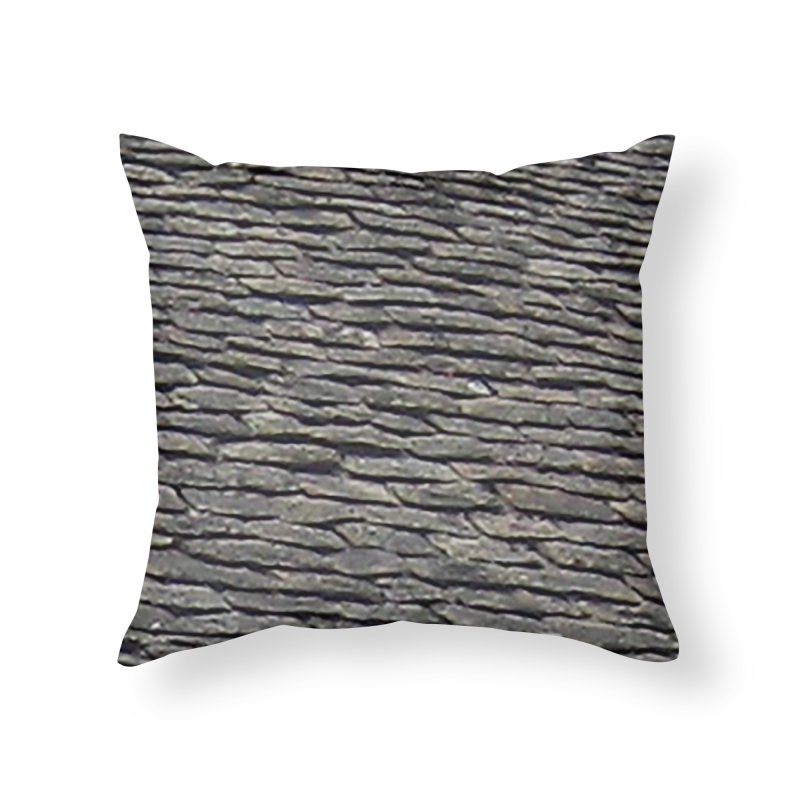 On the Tiles Home Throw Pillow by Unhuman Design