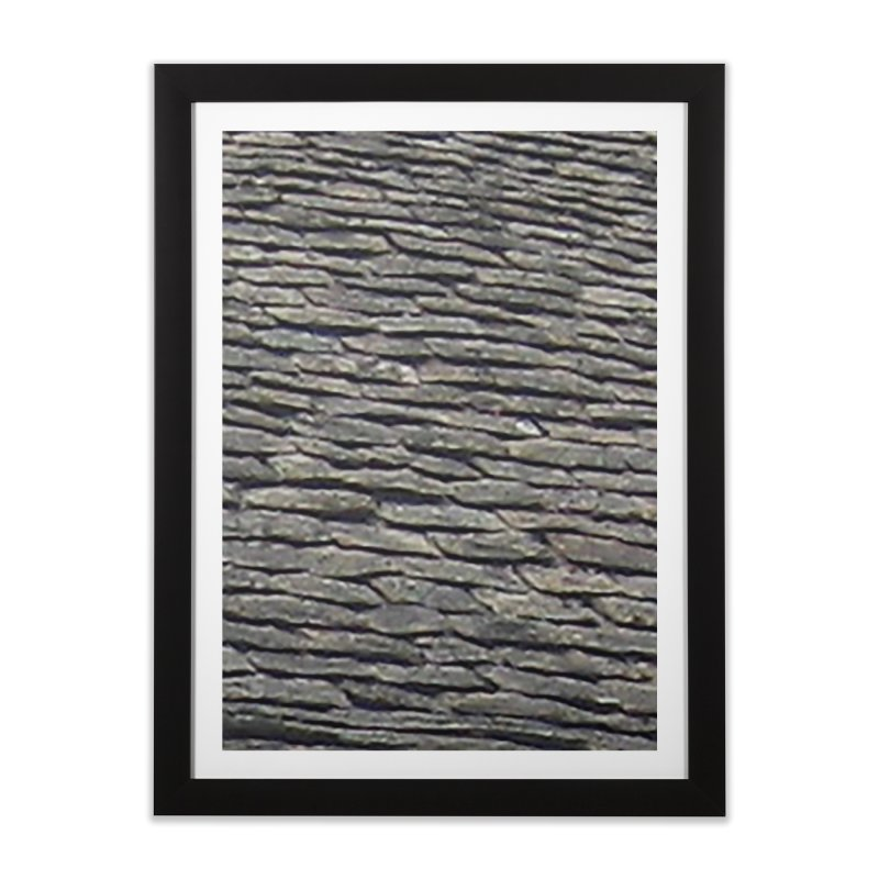 On the Tiles Home Framed Fine Art Print by Unhuman Design