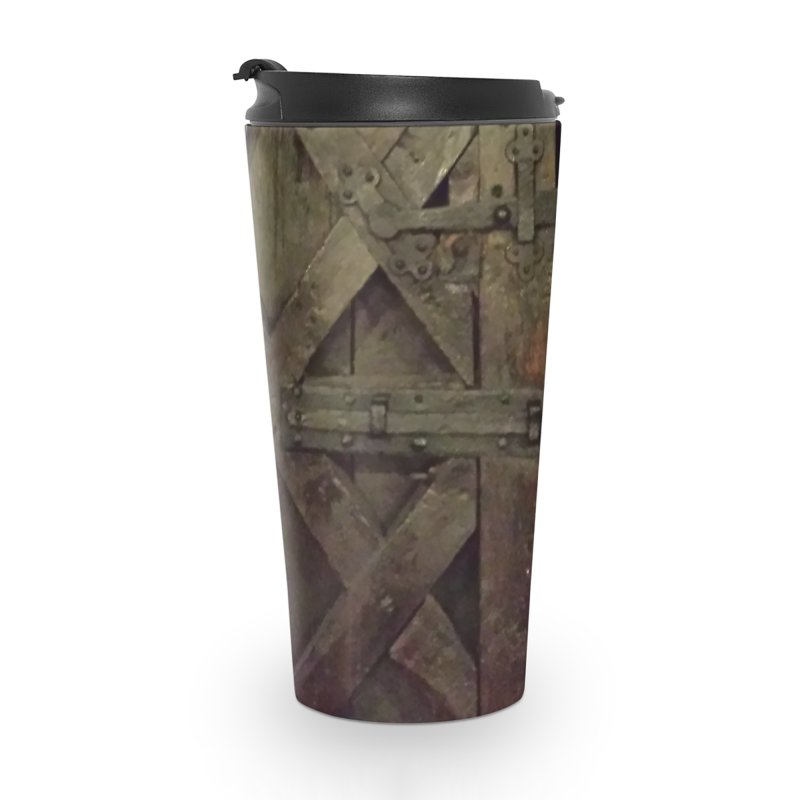 Black Door Accessories Travel Mug by Unhuman Design
