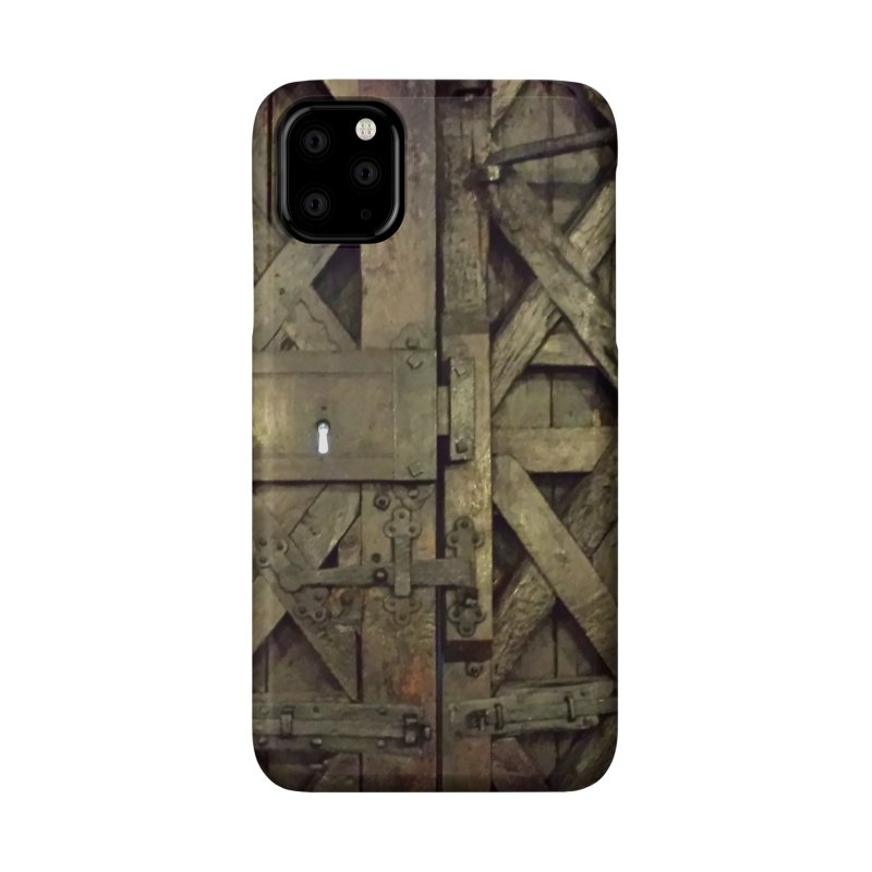 Black Door Accessories Phone Case by Unhuman Design