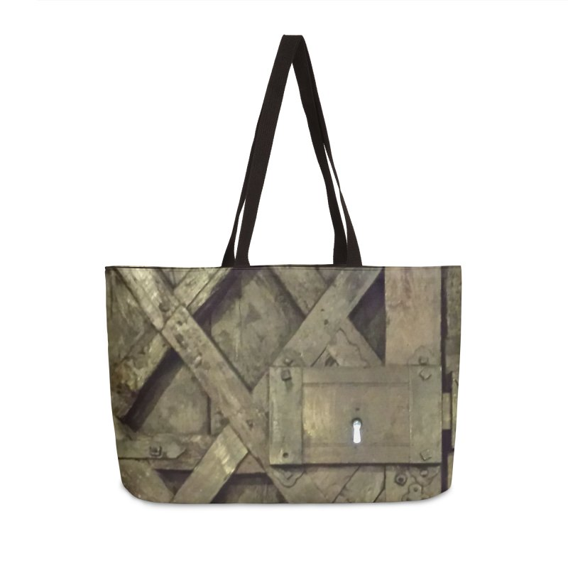 Black Door Accessories Weekender Bag Bag by Unhuman Design