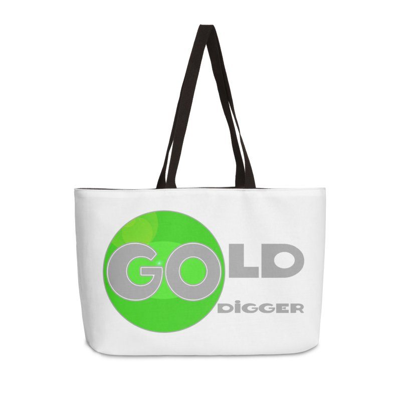 Gold Digger Accessories Weekender Bag Bag by Unhuman Design