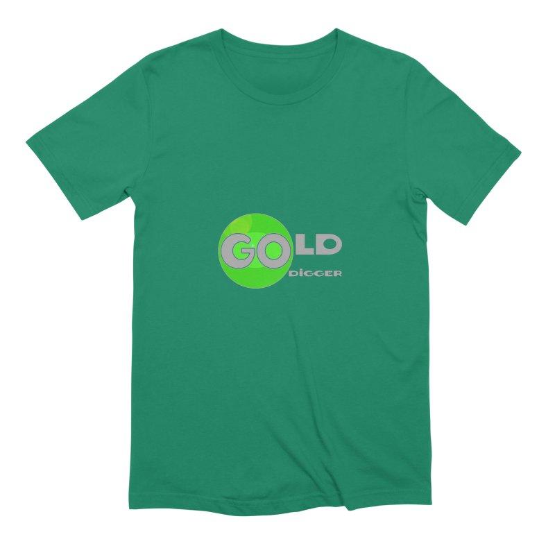 Gold Digger Men's Extra Soft T-Shirt by Unhuman Design