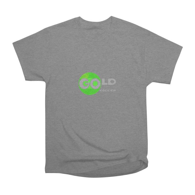 Gold Digger Men's T-Shirt by Unhuman Design