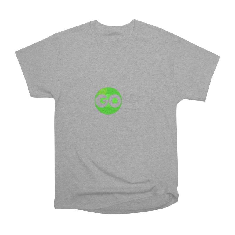 Gold Digger Men's Heavyweight T-Shirt by Unhuman Design