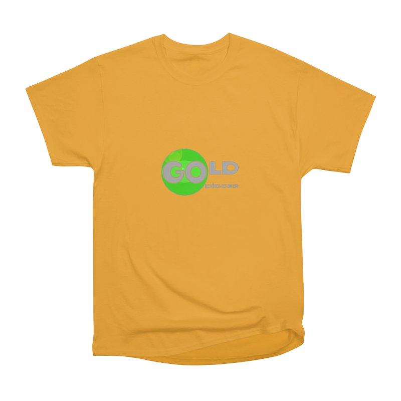 Gold Digger Women's Heavyweight Unisex T-Shirt by Unhuman Design