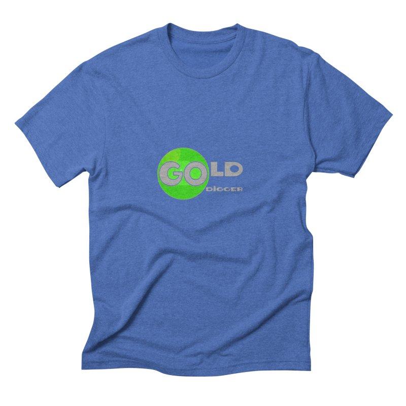 Gold Digger Men's Triblend T-Shirt by Unhuman Design