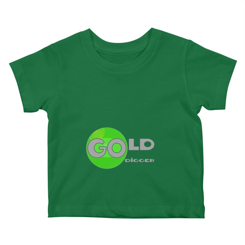 Gold Digger Kids Baby T-Shirt by Unhuman Design