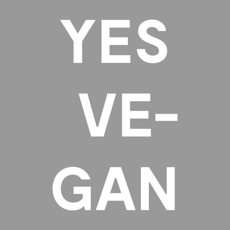 YES VE-GAN Shirt Men's T-Shirt by Goods by Unicorn Goods