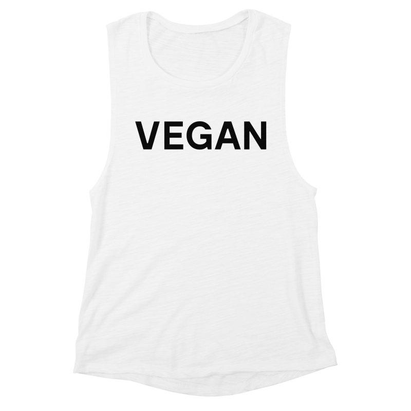 Classic Vegan Shirt Light Women's Tank by Goods by Unicorn Goods