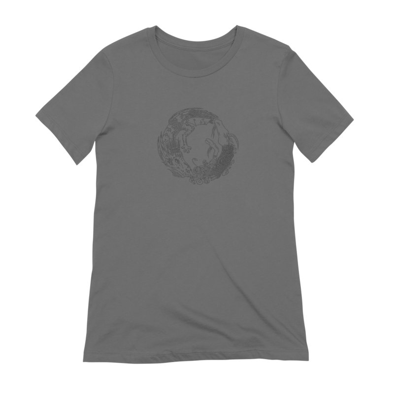 Unigon Logo, Dark Women's T-Shirt by Unigon Pics Delicious Merch Shoppe
