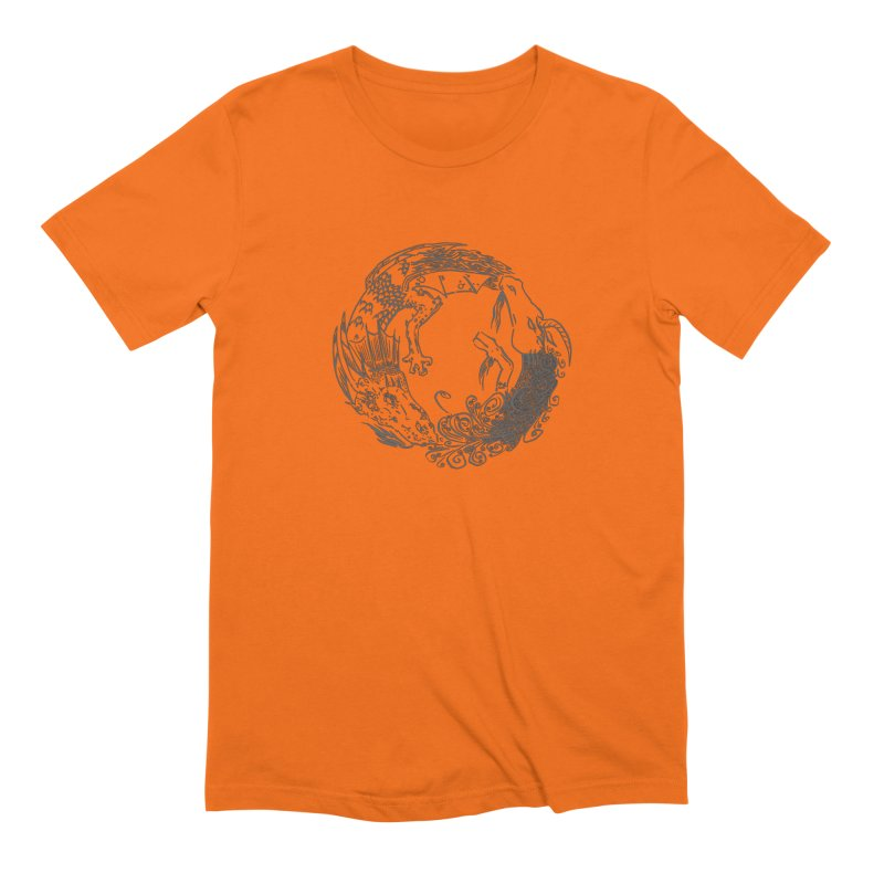 Unigon Logo, Dark Men's Extra Soft T-Shirt by Unigon Pics Delicious Merch Shoppe