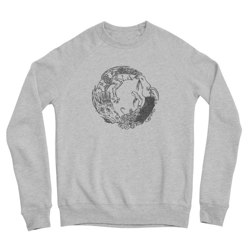 Unigon Logo, Dark Women's Sponge Fleece Sweatshirt by Unigon Pics Delicious Merch Shoppe
