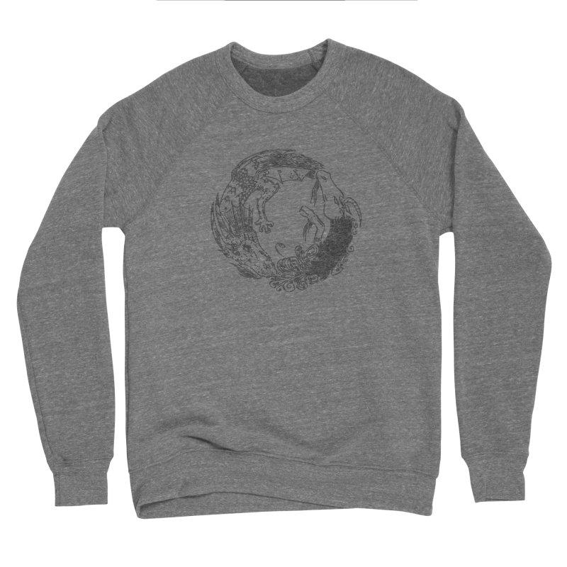 Unigon Logo, Dark Men's Sponge Fleece Sweatshirt by Unigon Pics Delicious Merch Shoppe