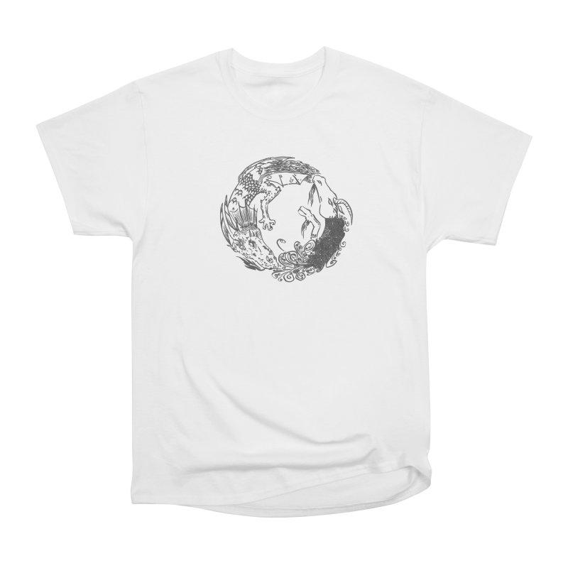 Unigon Logo, Dark Women's Heavyweight Unisex T-Shirt by Unigon Pics Delicious Merch Shoppe