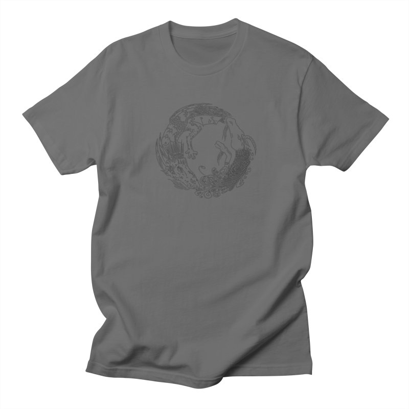 Unigon Logo, Dark Men's T-Shirt by Unigon Pics Delicious Merch Shoppe