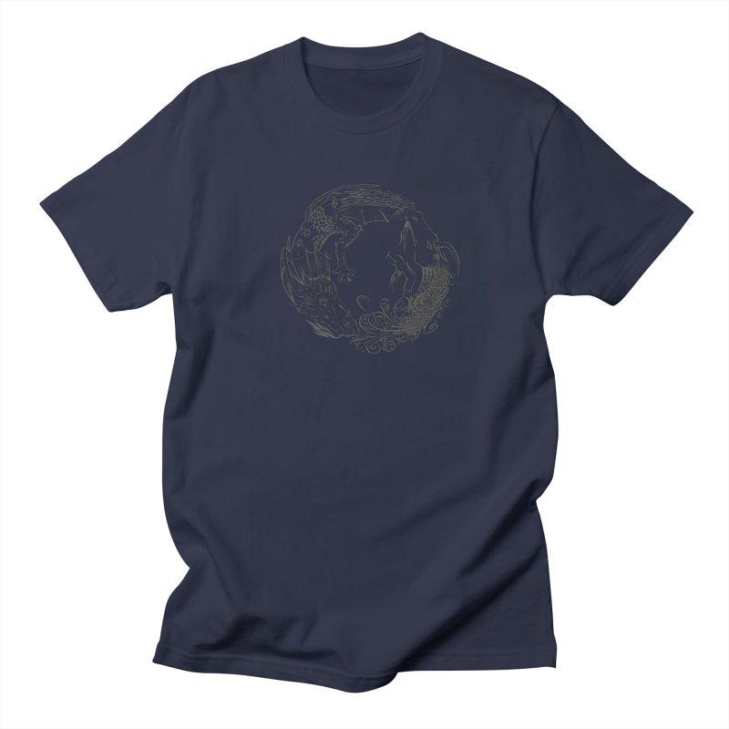 Unigon Logo, Dark Women's Regular Unisex T-Shirt by Unigon Pics Delicious Merch Shoppe