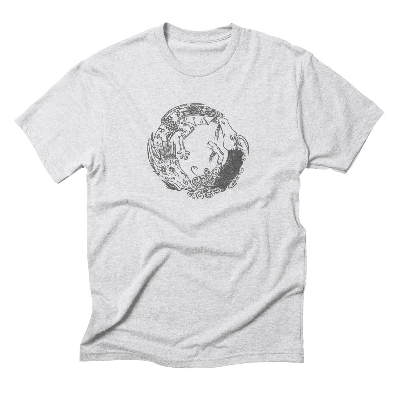 Unigon Logo, Dark Men's Triblend T-Shirt by Unigon Pics Delicious Merch Shoppe