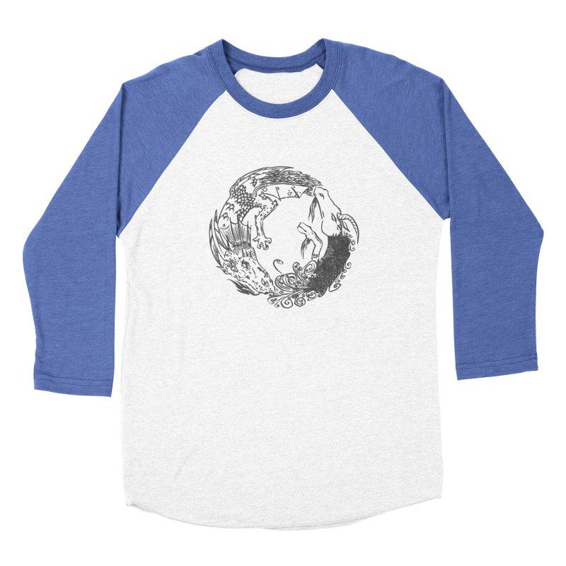 Unigon Logo, Dark Women's Baseball Triblend Longsleeve T-Shirt by Unigon Pics Delicious Merch Shoppe
