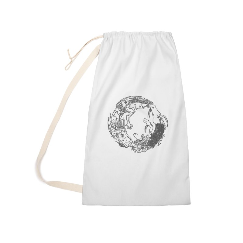 Unigon Logo, Dark Accessories Bag by Unigon Pics Delicious Merch Shoppe