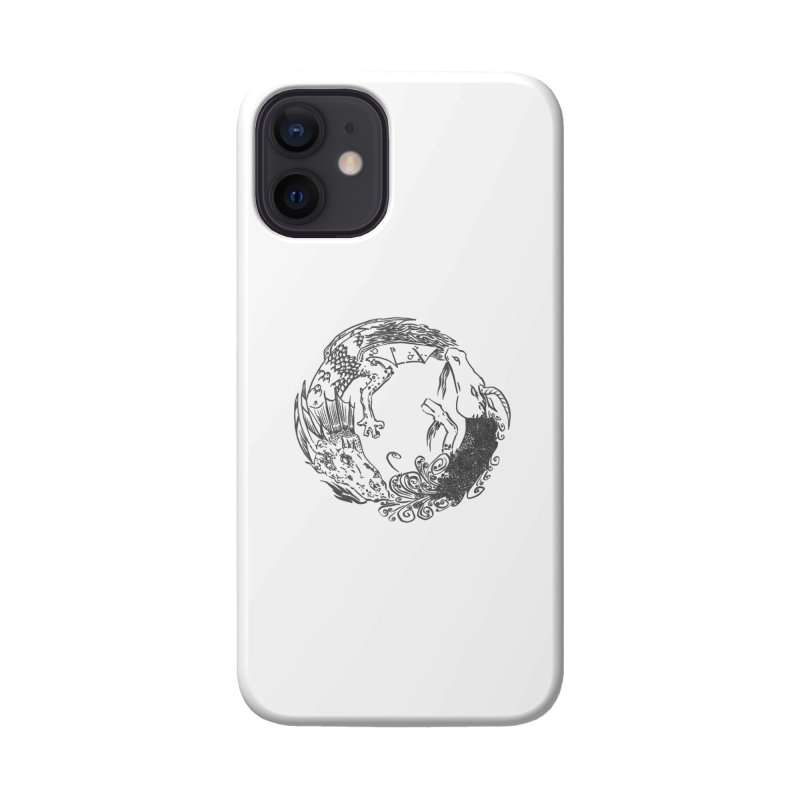 Unigon Logo, Dark Accessories Phone Case by Unigon Pics Delicious Merch Shoppe