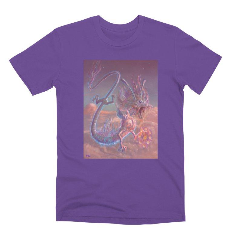 Sky Dragon Men's Premium T-Shirt by Unigon Pics Delicious Merch Shoppe