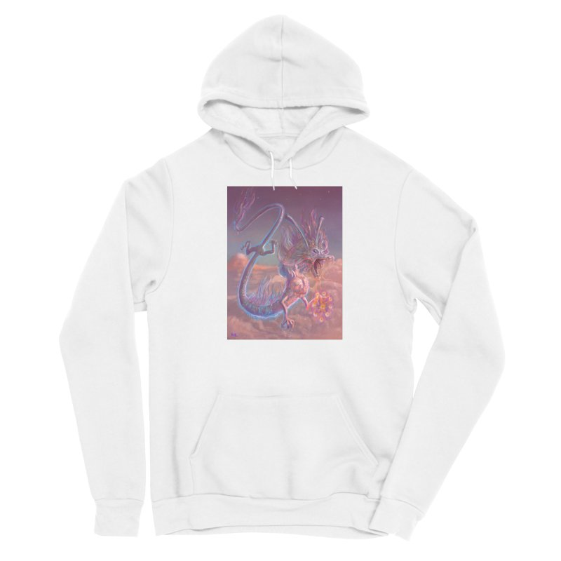 Sky Dragon Men's Pullover Hoody by Unigon Pics Delicious Merch Shoppe