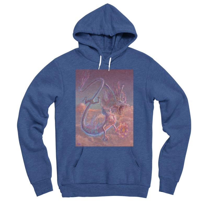 Sky Dragon Women's Sponge Fleece Pullover Hoody by Unigon Pics Delicious Merch Shoppe
