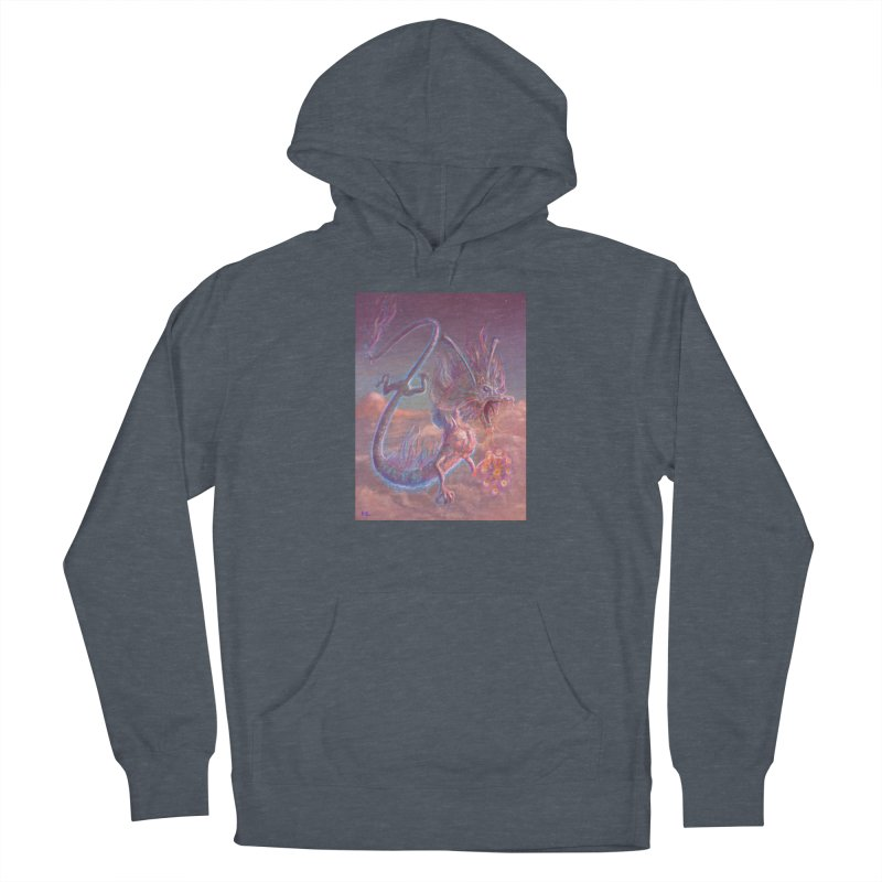 Sky Dragon Women's Pullover Hoody by Unigon Pics Delicious Merch Shoppe
