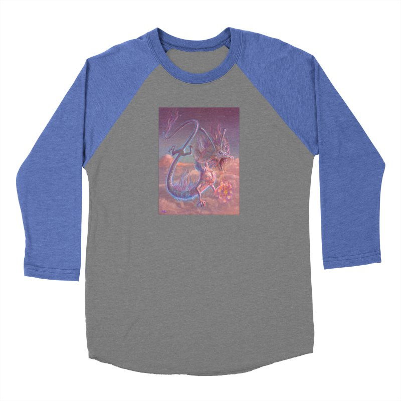 Sky Dragon Women's Longsleeve T-Shirt by Unigon Pics Delicious Merch Shoppe