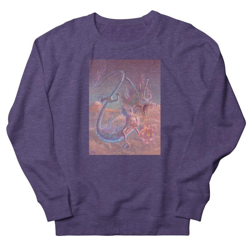 Sky Dragon Men's French Terry Sweatshirt by Unigon Pics Delicious Merch Shoppe