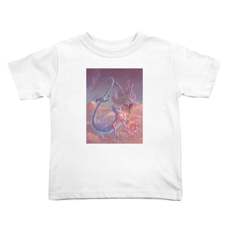 Sky Dragon Kids Toddler T-Shirt by Unigon Pics Delicious Merch Shoppe