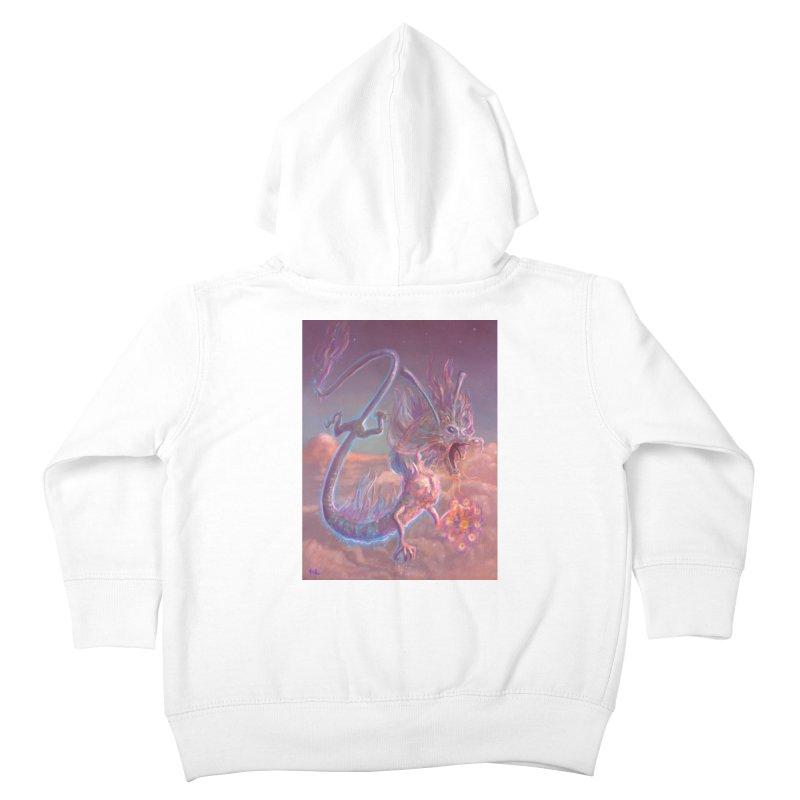 Sky Dragon Kids Toddler Zip-Up Hoody by Unigon Pics Delicious Merch Shoppe