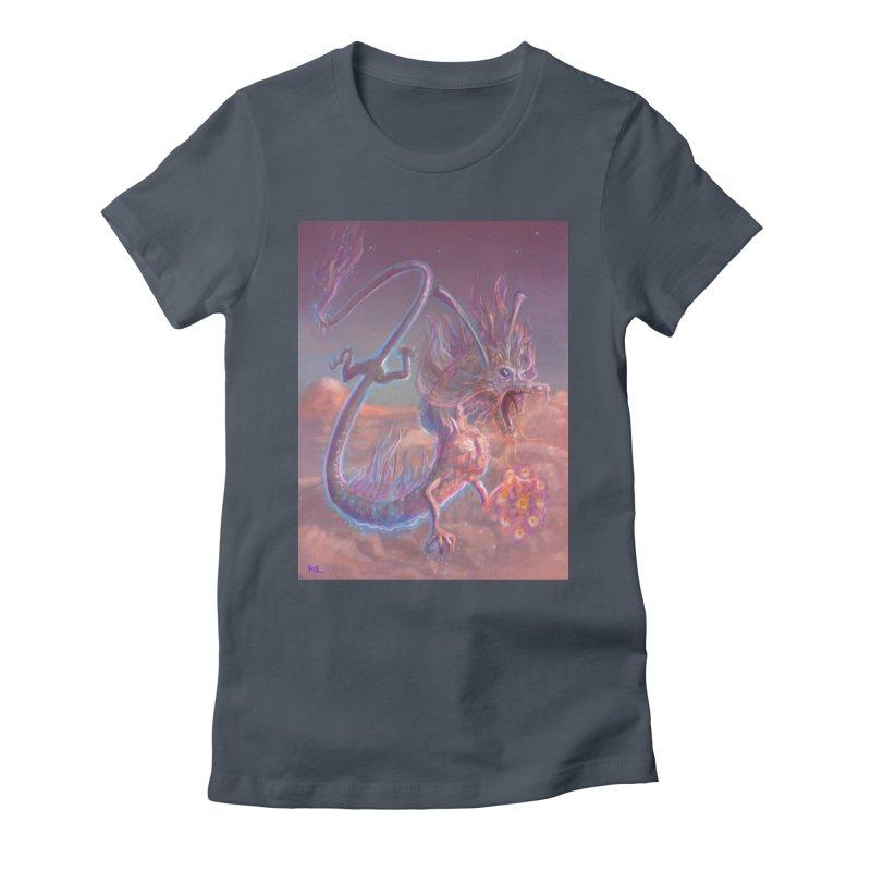 Sky Dragon Women's T-Shirt by Unigon Pics Delicious Merch Shoppe